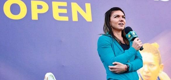 Simona Halep, la tragerea la sorti a tabloului principal la Indian Wells