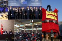 Summitul UE de la Bruxelles pune in discutie limita maxima de refugiati. Este a doua intalnire  a sefilor de stat UE in 11 zile