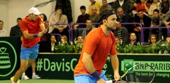 Tecau si Mergea au adus victoria impotriva Sloveniei in Cupa Davis