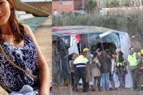Studenta Veronica Matcovici din Iasi a murit in accidentul de autocar din Spania (Tarragona)