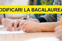 BACALAUREAT 2016 – 2017. Modificari in modul de organizare al examenului de BAC