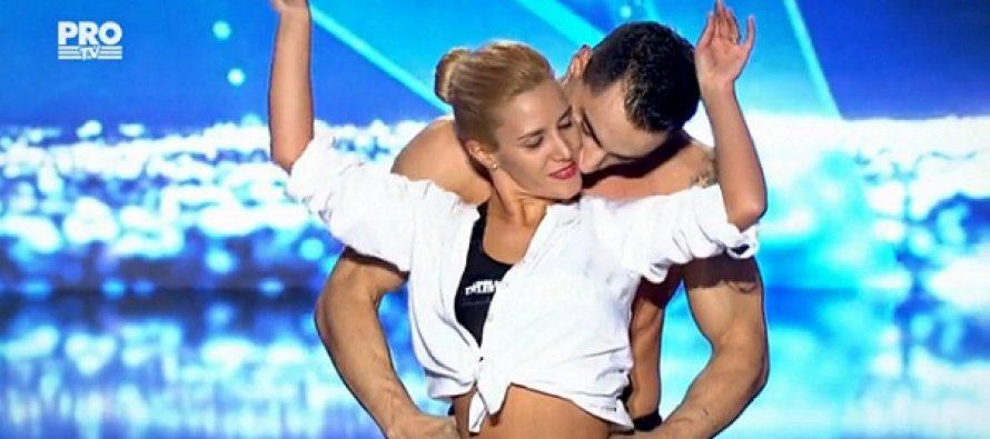 CRIS SI LORY – ROMANII AU TALENT 29 APRILIE 2016. Acrobatii de senzatie in prima semifinala Romanii au Talent 2016