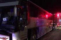 Accident de autocar la Sanandrei, langa Timisoara. Mai multi raniti, ISU a activat Codul Rosu