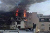 Explozie puternica intr-un imobil din centrul Parisului