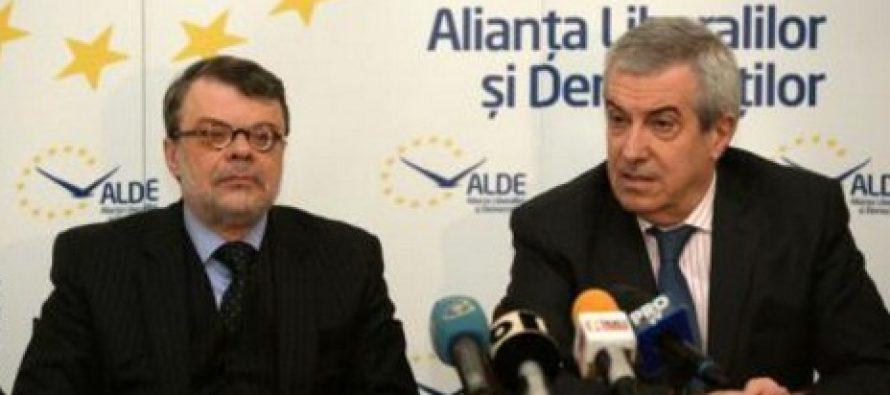 Candidatul ALDE la Primaria Generala este Daniel Barbu. Declaratiile lui Tariceanu si Constantin