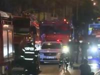 Incendiu intr-un restaurant situat in Centrul Vechi din Bucuresti