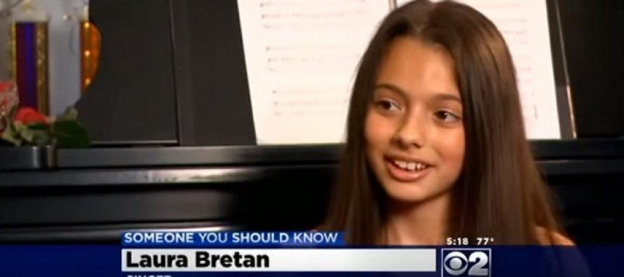 LAURA BRETAN, copilul minune de la Romanii au Talent 2016! Laura este vedeta in SUA. VIDEO