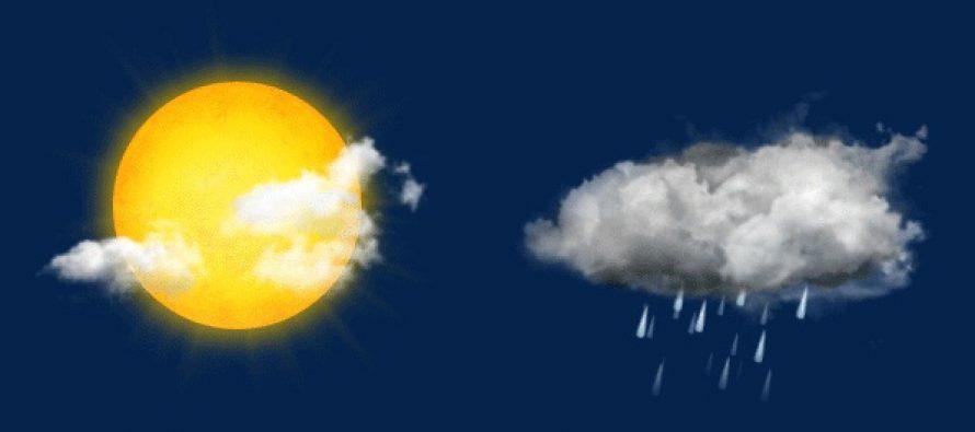 Temperaturi de aprilie in primele zile ale saptamanii, insa ploile vor fi destul de frecvente