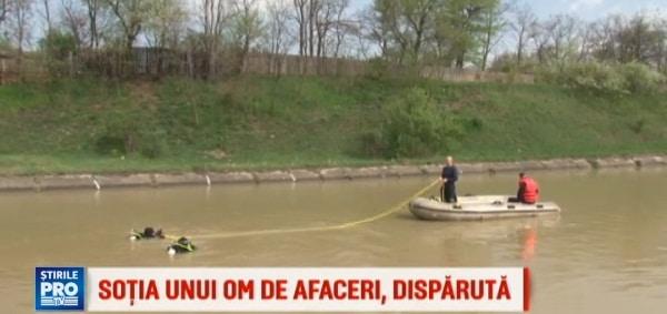 Sotia unui om de afaceri din Neamt, disparuta in raul Bistrita