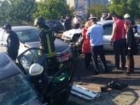 Accident grav in Letcani, judetul Iasi. Mai multe persoane au fost transportate la spital