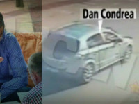 Ultimele imagini cu Dan Condrea in viata. Patronul Hexi Pharma chiar era in masina facuta praf?