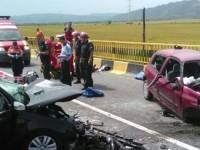 Accident in Brasov, pe DN1, intre Dridif si Voila spre Fagaras. Patru persoane au murit