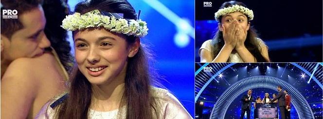 CASTIGATOR ROMANII AU TALENT 2016. Laura Bretan este castigatoarea finalei Romanii au Talent - 3 iunie 2016