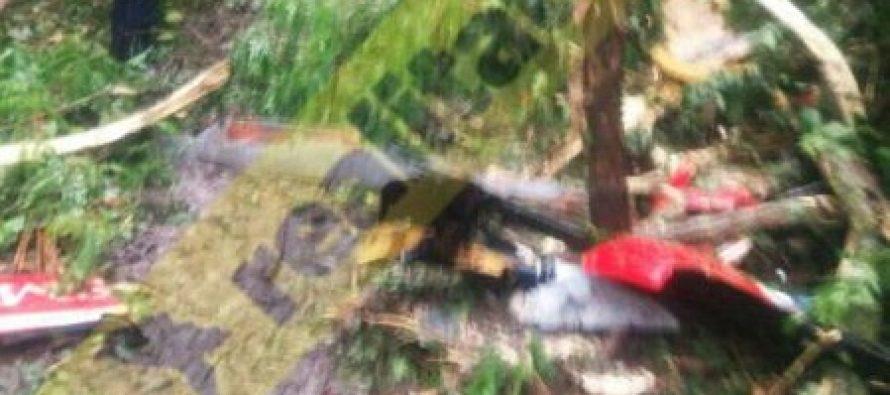 Elicopter SMURD Iasi prabusit in Rep. Moldova, in zona Cantemir-Haragas, patru morti