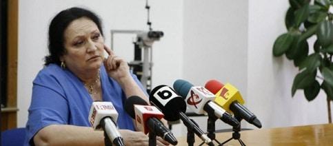 TOLONTAN: Monica Pop, director la Spitalul de Oftalmologie, a fost sprijinita de PSD