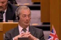 Scandal in Parlamentul European. Nigel Farage, huiduit dupa un discurs sfidator: Acum nu mai radeti, nu?
