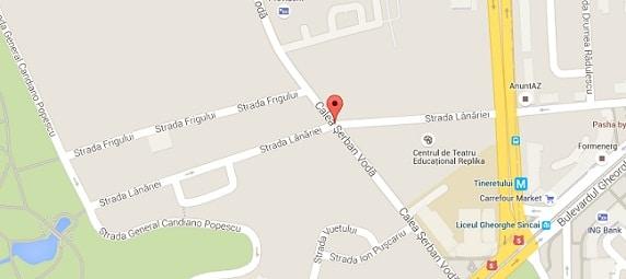 Alerta cu bomba in Bucuresti, pe Calea Serban Voda
