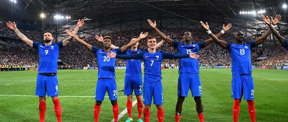 FINALA EURO 2016 E FRANTA - PORTUGALIA! Francezii i-au invins pe nemti dupa 58 de ani