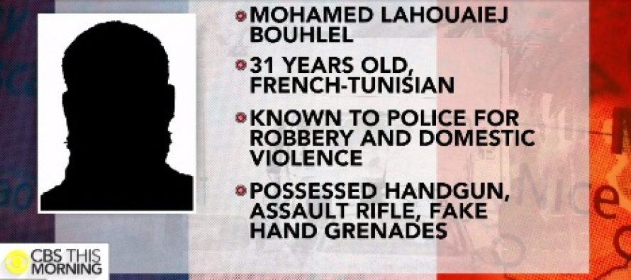 Mohamed Lahouaiej Bouhlel este teroristul de la Nisa