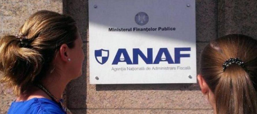 ANAF a transmis un avertisment pentru contribuabili privind situatia fiscala personala