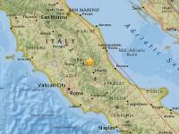 Inca un cutremur s-a produs vineri langa Amatrice, Italia