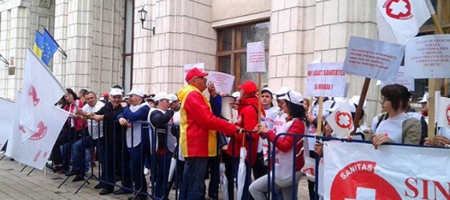 Greva in Sanatate – Federatia Sanitas a anuntat ca a strans semnaturile necesare pentru a fi declansata legal greva generala in sistemul de sanatate