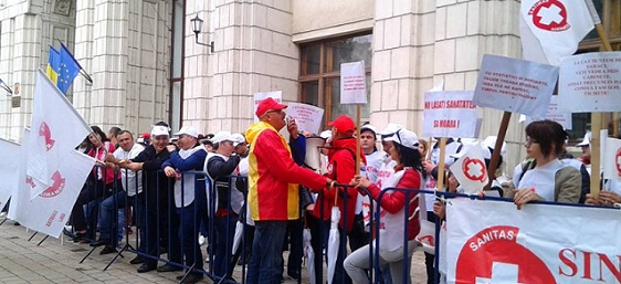 Greva in Sanatate - Federatia Sanitas a anuntat ca a strans semnaturile necesare pentru a fi declansata legal greva generala in sistemul de sanatate
