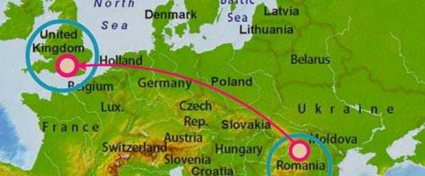 Cati romani traiesc in Marea Britanie, potrivit estimarilor ONS. Doar la Londra traiesc 100.000 de romani