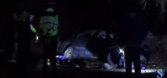 Accident grav in Cluj. Un tanar a murit la intrarea in Dej dinspre Somcut, alte 4 persoane au fost ranite