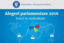 ALEGERI PARLAMENTARE 2016. Mai multe sectii de votare pentru romanii din diaspora
