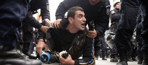 George Simion, liderul marsului pentru unirea cu Basarabia, declarat indezirabil de Republica Moldova