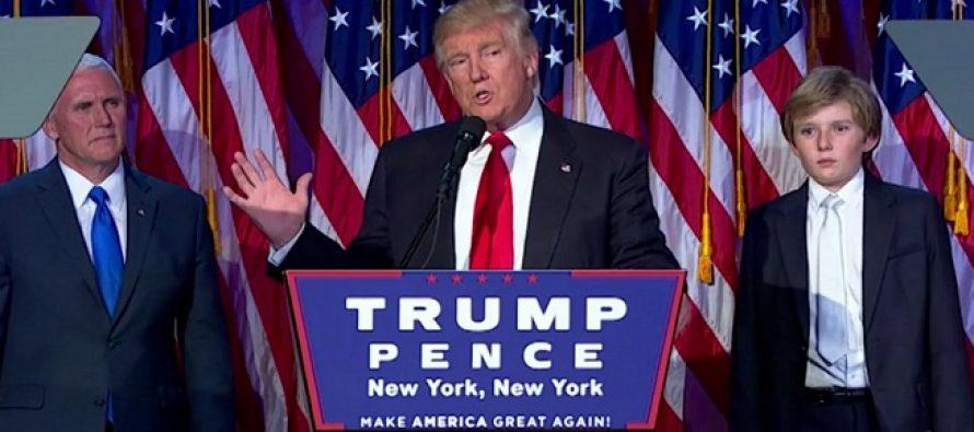 Discursul lui Donald Trump dupa ce a castigat alegerile din SUA: Voi fi presedintele tuturor americanilor! Trebuie sa visam mult, mare si indraznet