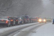 Starea drumurilor: CNAIR informeaza ca se circula pe toate drumurile si autostrazile