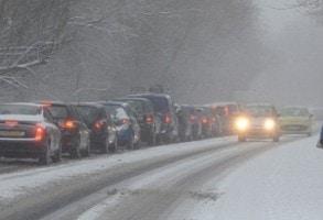 INFOTRAFIC, 9 FEBRUARIE 2017: Cum se circula pe drumurile si autostrazile din Romania dupa ultimele ninsori