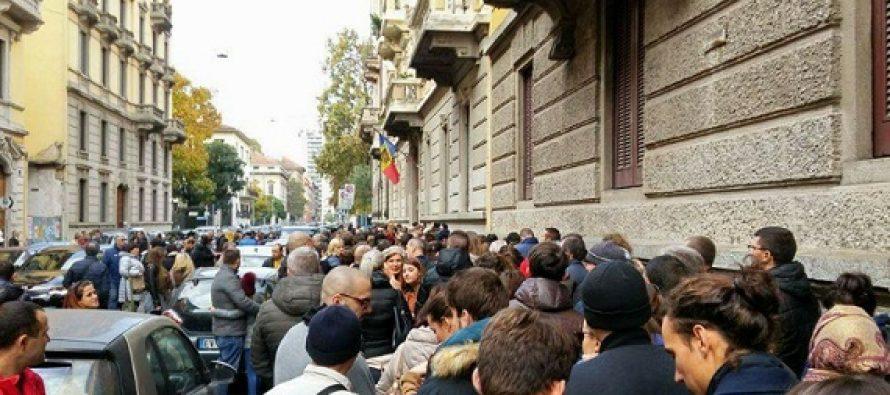 ALEGERI REP. MOLDOVA. Diaspora din Romania, Marea Britanie, Franta sau Italia reclama probleme la vot. Maia Sandu cere demisia ministrului de Externe