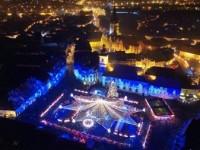 CRACIUN 2016. Cel mai frumos Targ de Craciun din Romania s-a deschis la Sibiu. VIDEO SPECTACULOS