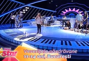 VEVERITELE NAZDRAVANE, NEXT STAR 2016. Andrada a lasat juriul in lacrimi interpretand LIE CIOCARLIE! VIDEO