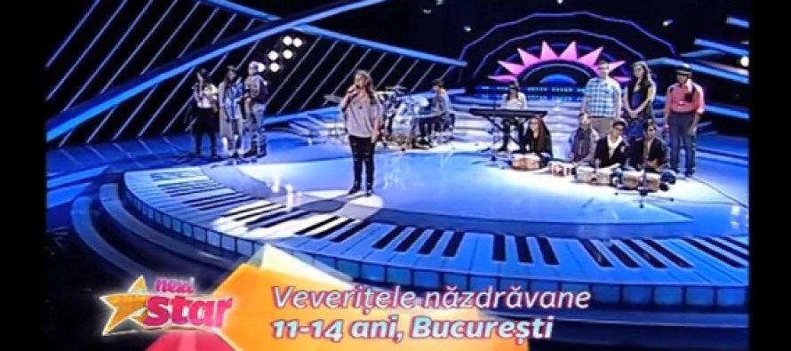 VEVERITELE NAZDRAVANE, NEXT STAR 2016. Andrada a lasat juriul in lacrimi interpretand LIE CIOCARLIE! VIDEO