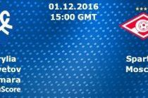 BILETUL ZILEI 1 DECEMBRIE 2016. Spartak Moscova se poate distanta in fruntea primei ligi din Rusia