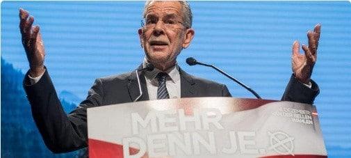 Rezultatul alegerilor din Austria poate schimba intreaga Europa. EXIT POLL: Independentul Van der Bellen conduce detasat