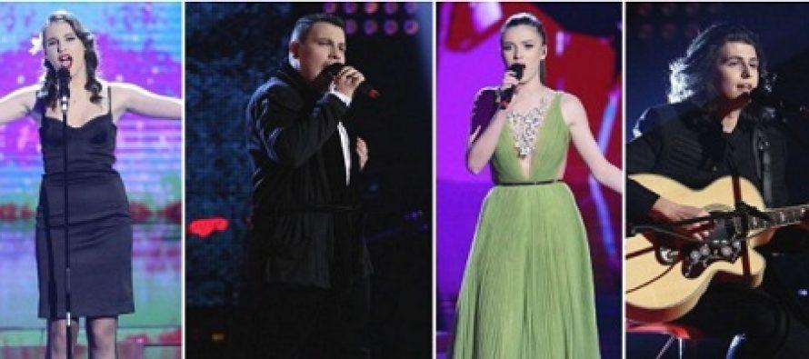 VOCEA ROMANIEI 16 DECEMBRIE 2016 LIVE. Castigatoarea Vocea Romaniei 2016 este Teodora Buciu