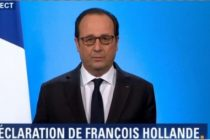 Seism politic in Franta! François Hollande renunta sa mai candideze la un nou mandat prezidential in 2017