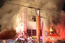 Incendiu intr-un club din California, asemanator cu cel din Colectiv. Zeci de oameni au murit carbonizati