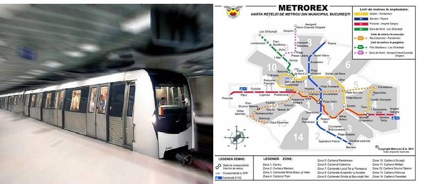 Magistrala 6 de metrou Gara de Nord – Aeroport Otopeni, finalizata in 2021
