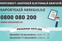 Unde pot fi sesizate neregulile de la alegerile parlamentare din 11 decembrie