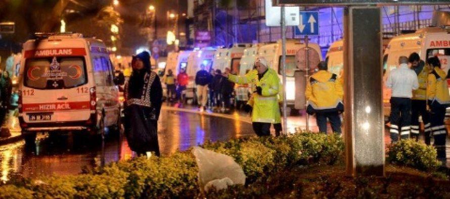 Atac in noaptea de Revelion la Istanbul, cel putin 39 de morti. Oamenii panicati s-au aruncat in Bosfor