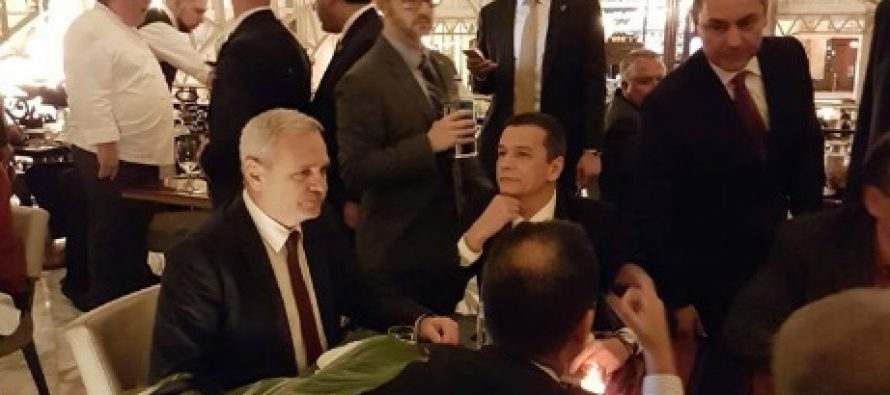 Liviu Dragnea si premierul Grindeanu au luat cina cu Donald Trump. Mesajul presedintelui SUA pentru Romania
