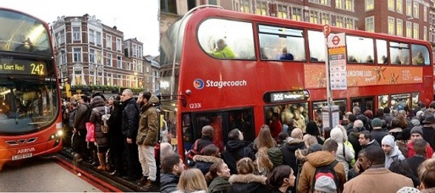 Greva la metroul din Londra, in statiile de autobuz a fost haos luni dimineata