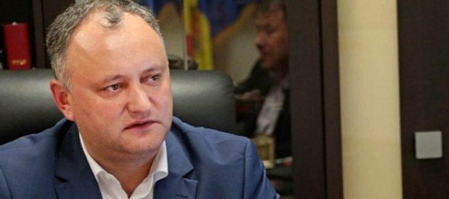 Igor Dodon a fost suspendat din functia de presedinte al Rep. Moldova, in urma unei decizii luate de Curtea Constitionala