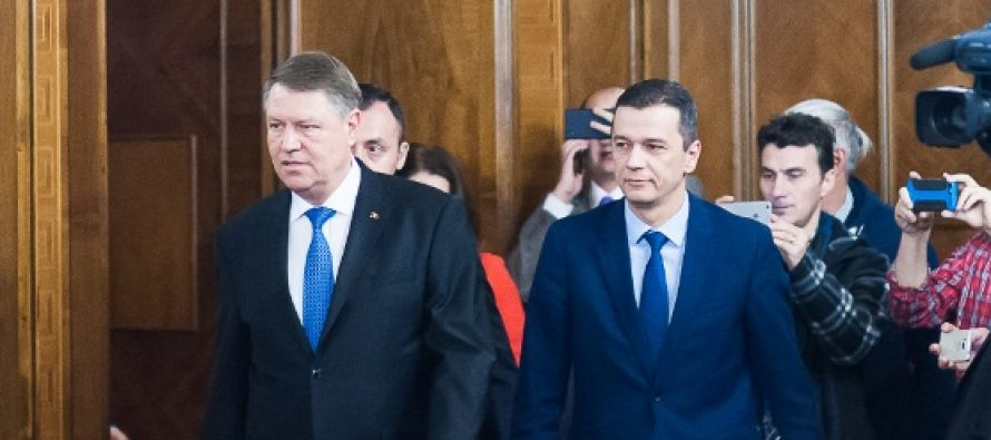 Scrisoarea presedintelui Iohannis catre premierul Grindeanu: Scaderea bugetului MApN este un atentat la siguranta romanilor
